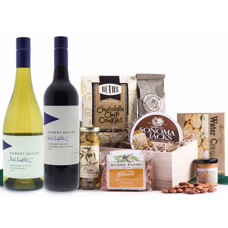 90 Point Perfect Pair Wine Gift Set - Gourmet Gift Basket