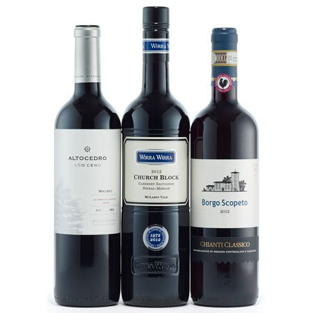 90+ Point Red Wine Trio - Wine Collection Gift