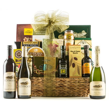 Bountiful Vineyard Wine Gift Basket