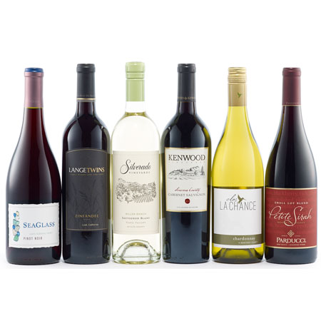California Dreaming Big Wine Collection Gift