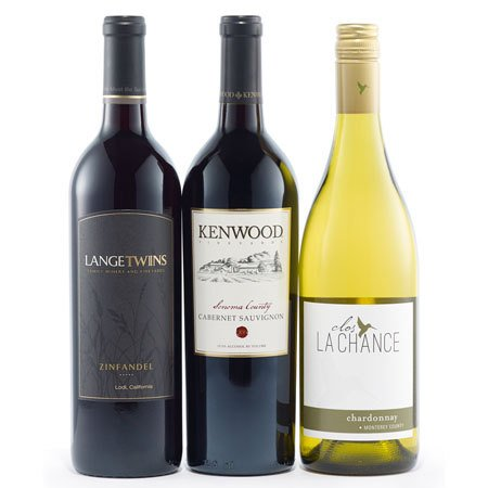 California Dreaming Wine Trio - Wine Collection Gift