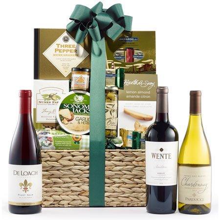 California Wine Tour Wine Gift Basket