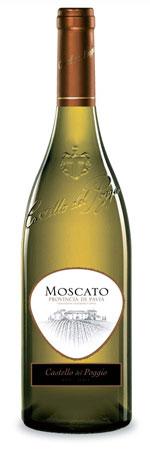 Castello del Poggio Moscato Provincia di Pavia - Muscat White Wine