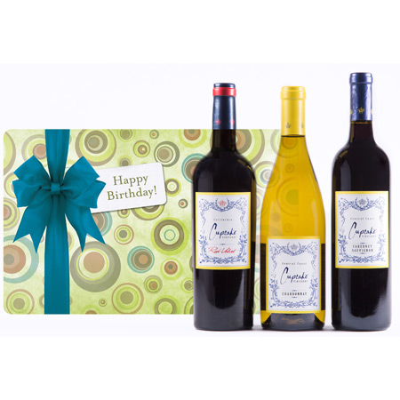 Cupcakes for Your Birthday Wine Gift Set - Wine Collection Gift