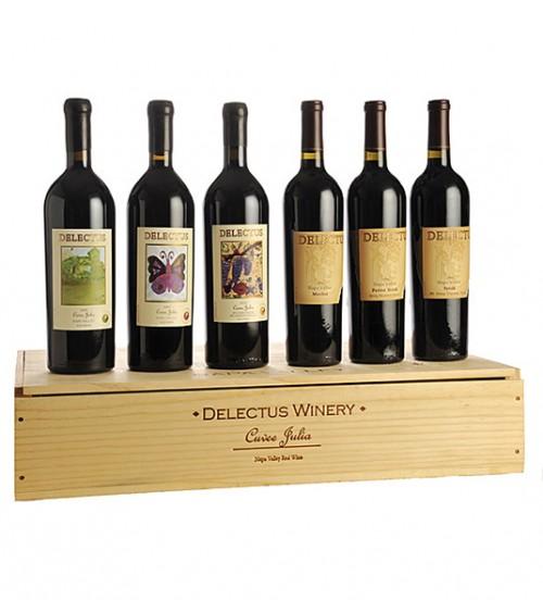 Delectus Vineyards Collector's Set