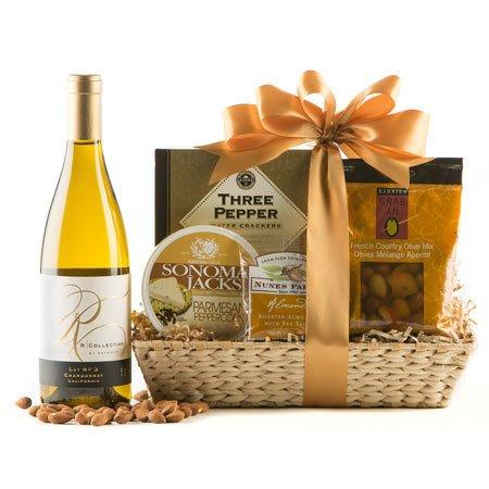 Fine Wine & Cheese Wine Gift Basket