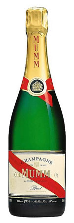 Mumm Brut Cordon Rouge (375ML half-bottle) - Champagne & Sparkling