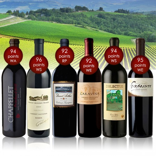 Napa Valley 90+ Rated Half-Case