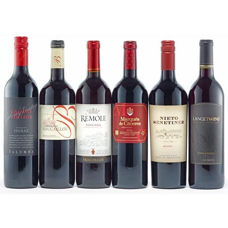 Quintessential Reds Wine Collection Gift
