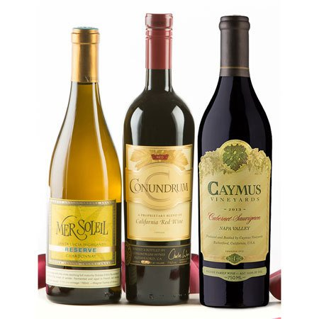 Caymus & More: Wagner Family of Wine Trio - Wine Collection Gift
