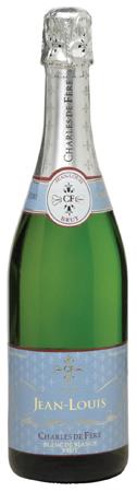Charles de Fere Cuvee Jean-Louis Blanc de Blancs Brut - Champagne & Sparkling